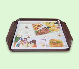 汉堡餐垫纸设计印刷