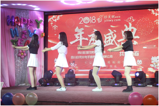 《青春美少女》舞蹈演绎出美的旋律